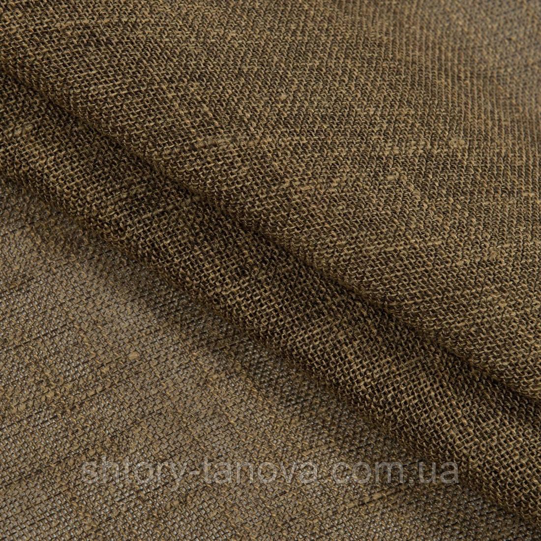Натуральная мешковина из джута  беж-коричневый