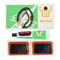 Латки для камер RED SUN OS-1305 / B08841, 24шт / л, 4.5 * 3.0см, гума, шиноремонтні матеріали, шини, матеріали для шінормемонта, вулканізація