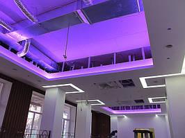 Установка светодиодной ленты RGB и одноцветной