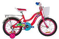 Акция Детский велосипед с корзинкой Flower 16 дюймов Formula для девочки, фото 2