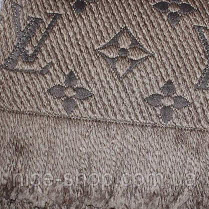 Шарф Louis Vuitton капучино хаки, фото 3