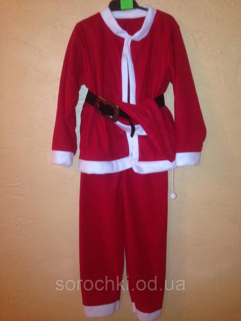 """Костюм """"Санта Клауса"""" для мальчика , красный , продажа - прокат"""