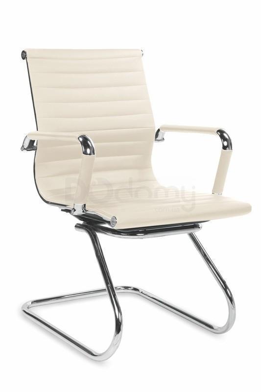 Кресло офисное Prestige Skid Halmar кремовый