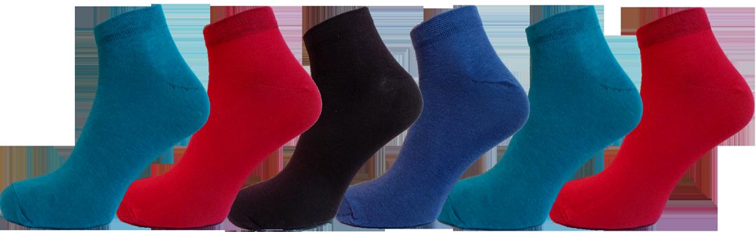 """Чоловічі шкарпетки бавовна 100% снікерс, мікс """"lomani"""""""