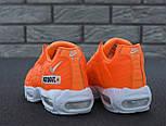 "Мужские кроссовки N1ke Air Max 95 ""Just Do It"" Orange. Живое фото (Реплика ААА+), фото 7"