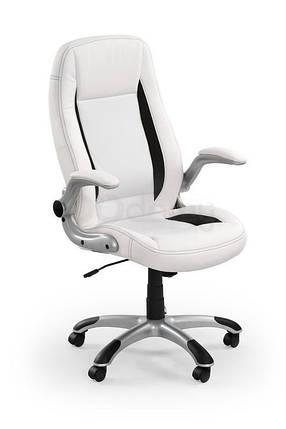 Кресло офисное Saturn Halmar белый, фото 2