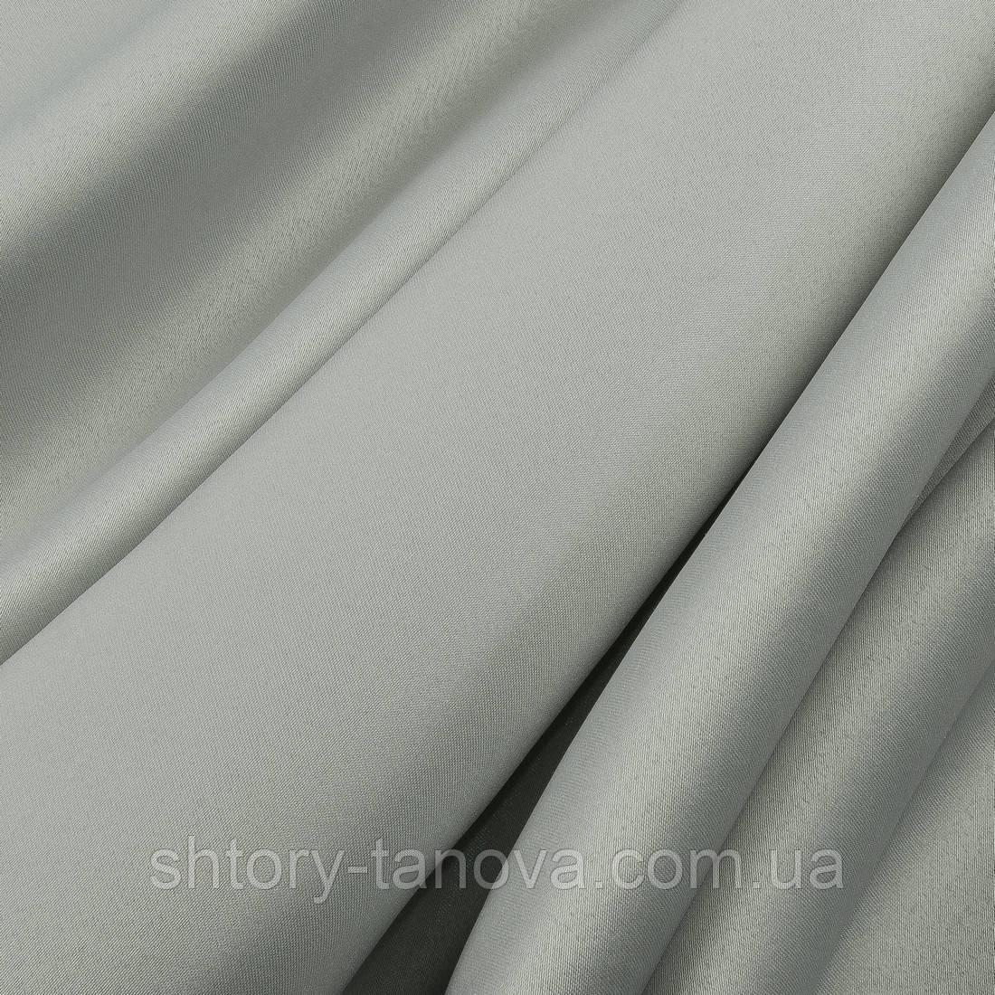 Декоративный атлас дека/ deca серый