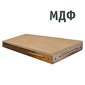 Полиця МДФ в металевому каркасі стелажна для гаража, підвалу, кладової