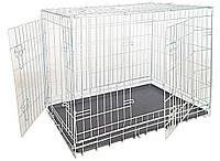 Клетка для собак Croci (Кроучи) складная 2 двери цинк, 78*55*62 см