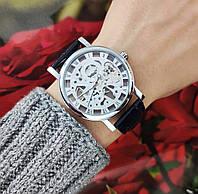 Механические часы Winner Skeleton (silver) - гарантия 12 месяцев