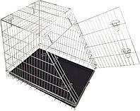 Клетка для собак в авто CROCI (Кроучи) цинк, 1 дверь 92*63*72 см