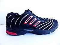 Мужские беговые кроссовки Adidas 100% Оригинал р-р 46 (29,5 см)  (б/у,сток) original адидас чёрные