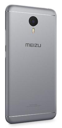Задняя крышка Meizu M3 Note silver orig (M681h,L681h)