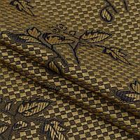 Декор-гобелен букетик старое золото,коричневый
