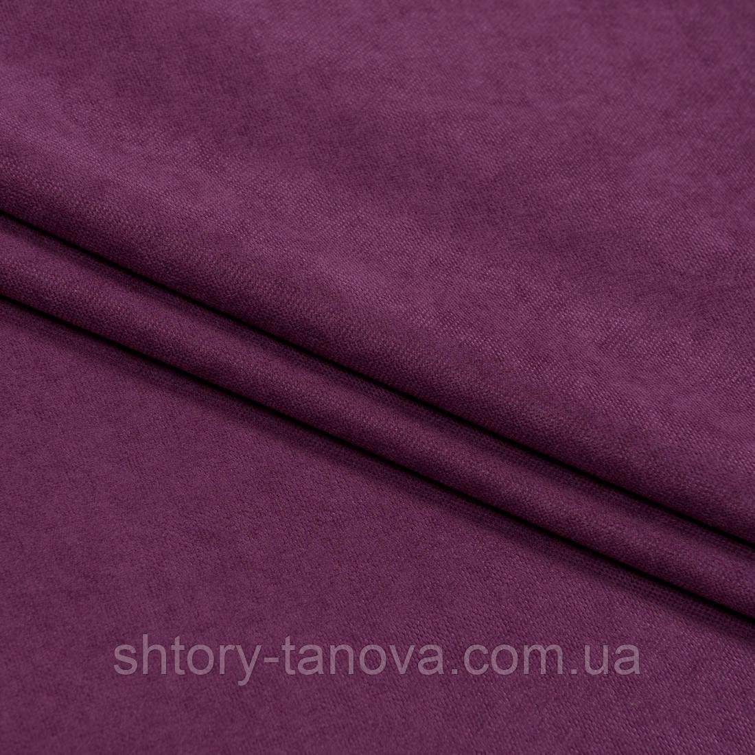 Нубук ткань для штор фуксия