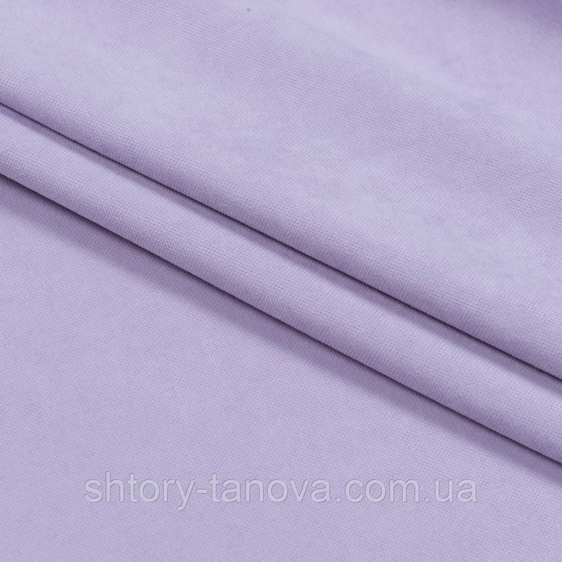 Нубук ткань для штор  лаванда