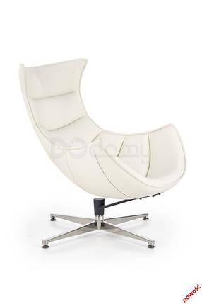 Кресло LUXOR Halmar белый, фото 2
