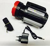 Ручний акумуляторний ліхтар з Power Bank YJ-2895U, фото 4