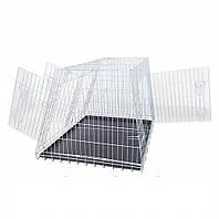 Клетка для собак в авто CROCI (Кроучи) цинк, 2 двери 93*79*68 см