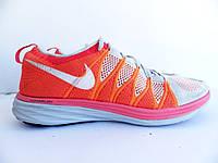 Мужские спортивные кроссовки Nike Flyknit Lunar 100% Оригинал р-р 45 (29 см)  (б/у,сток) original найк яркие