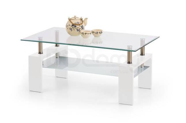 Журнальный столик DIANA INTRO halmar белый, фото 2
