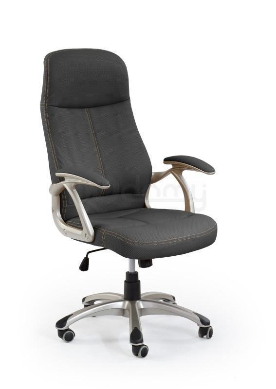 Кресло офисное Edison Halmar черное