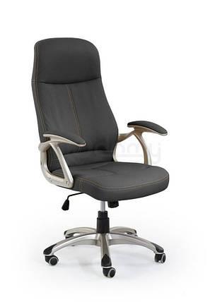 Кресло офисное Edison Halmar черное, фото 2