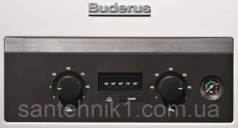 Газовый котел Buderus Logamax U044-24K двухконтурный, фото 2