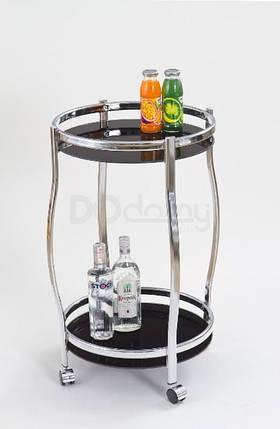 Барный столик Bar-8 черный Halmar, фото 2
