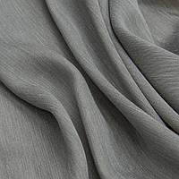 Тафта портьерная берта т.серый
