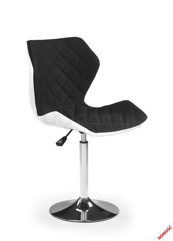 Кресло Matrix 2 Halmar черный, белый
