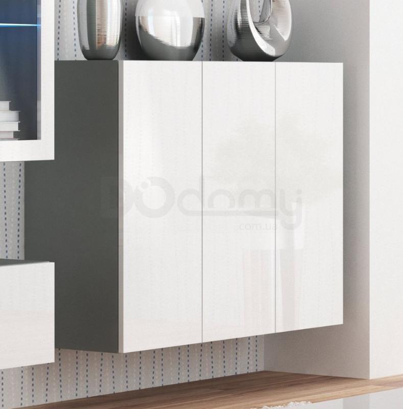 Комод навесной Livo KM-120 Halmar Белый, Серый