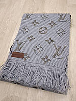 Шарф Louis Vuitton светло-серый