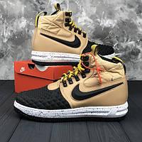 Кроссовки мужские Nike Lunar Force 1 Duckboot 17, мужские кроссовки Найк  лунар форс Дакбут, 75ef43aac8c