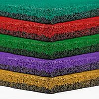 Резиновая плитка 500х500х30 мята, фото 1