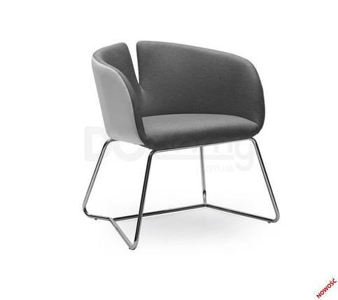Кресло PIVOT halmar серое, фото 2