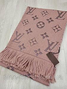 Шарф Louis Vuitton пудрово-персиковий