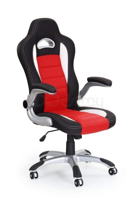 Кресло офисное Lotus Halmar черно-красное
