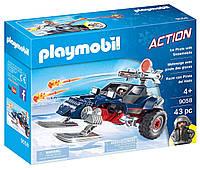 Конструктор Playmobil 9058 Арктические пираты на аэросанях, фото 1