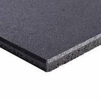 Резиновая плитка 500х500х40 черная, фото 1