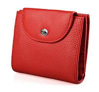 Оригинальный женский  кожаный кошелек ST Red