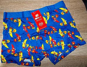 Трусы - боксеры Банан размер 2XL  high quality синие