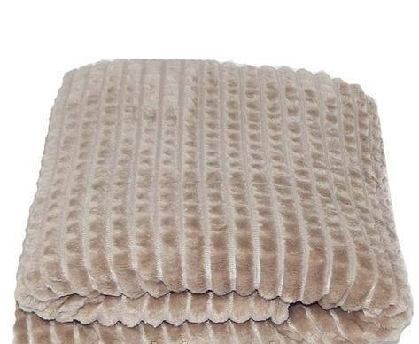 Плед плюшевый микрофибра крокодил Капучино, фото 2