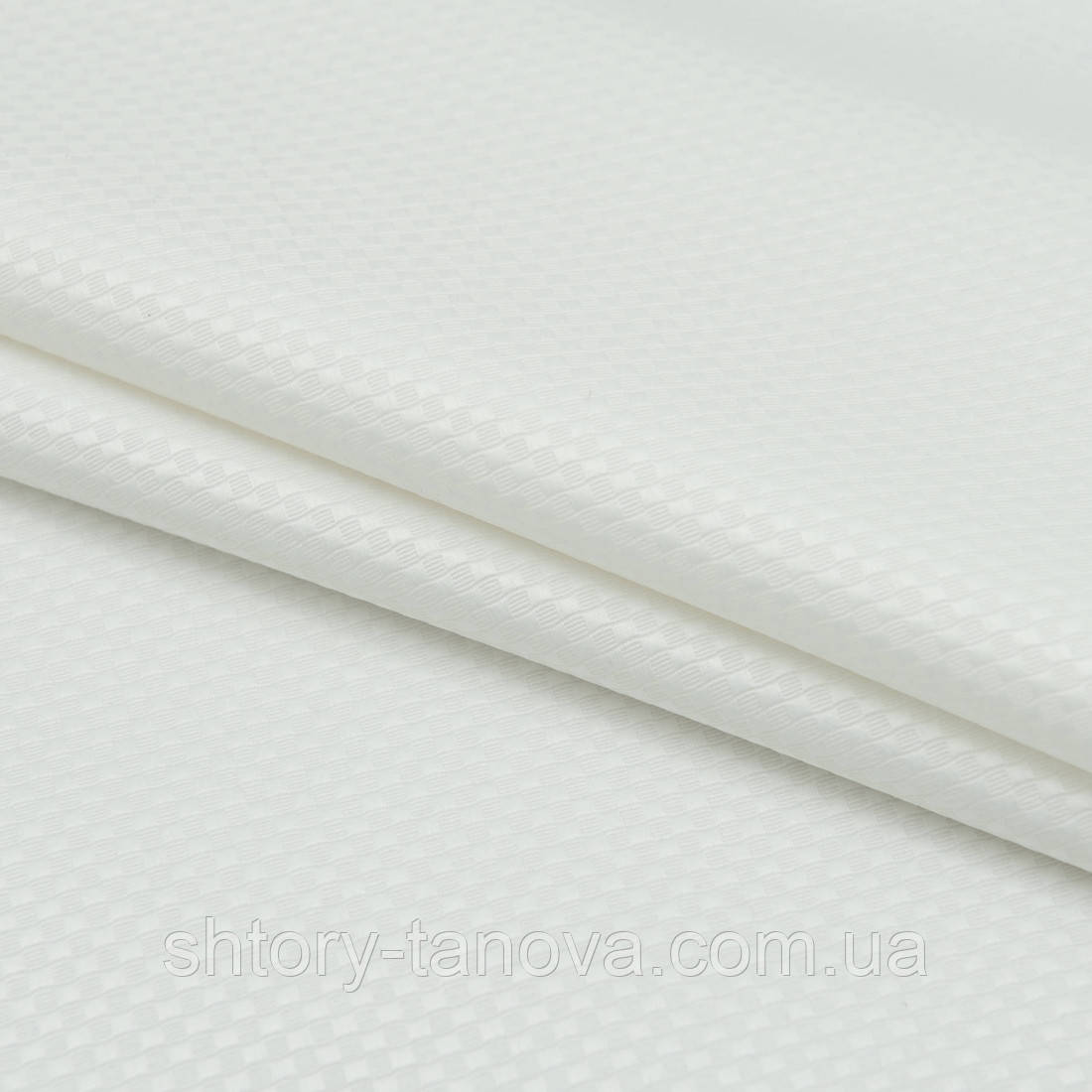 Тканина з акриловою грунтовкою колін /colin /піке молочний