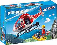 Конструктор Playmobil 9127  Горноспасательный вертолёт, фото 1