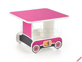 Стол детский LOKOMO Halmar розовый