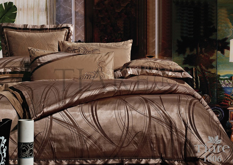 Постельное белье сатин-жаккард Tiare 1806 Вилюта евро комплект -  Интернет-магазин