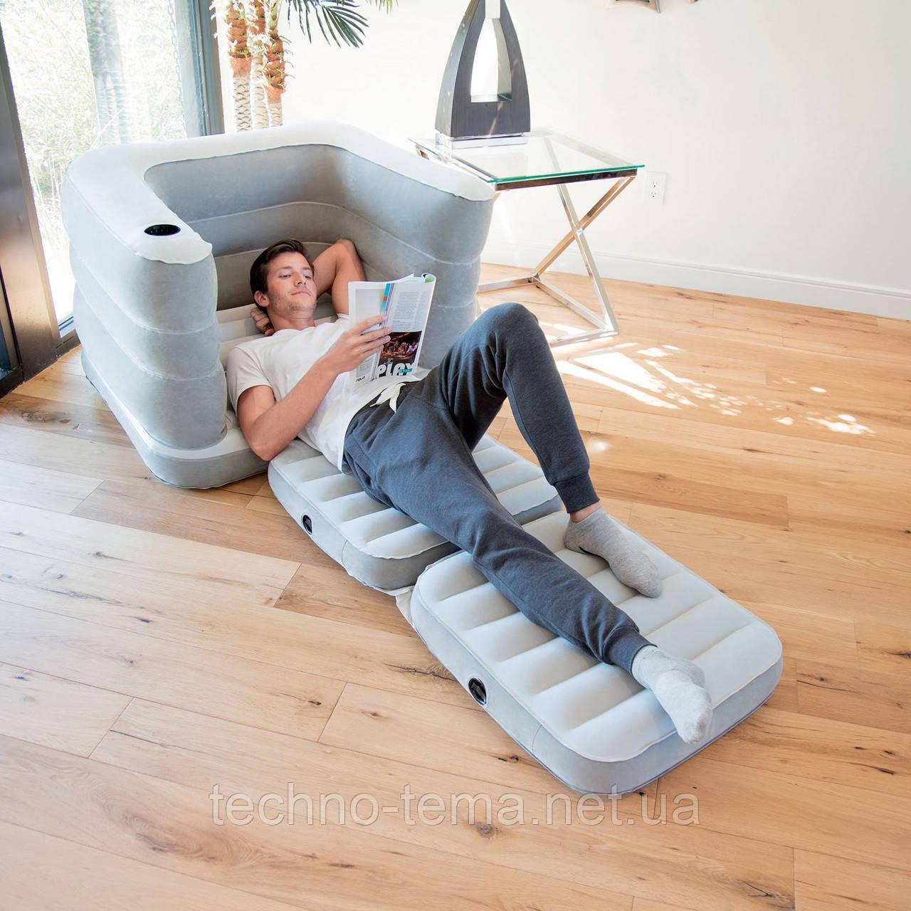 Надувное кресло-трансформер Bestway 75065