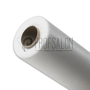 Одноразовые простыни в рулонах 0,6х100 метров 17 г/м2, медицинские, для салонов красоты, белые