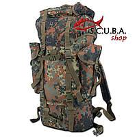 Экспедиционный армейский камуфлированный рюкзак Бундесвер 65 л